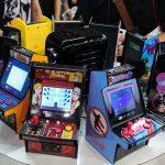【イベントレポート】東京ゲームショウで小型レトロゲーム機「My ARCADE」がブース展開