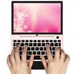 iPad miniサイズのノートPC「GPD P2 Max さくらピンク」販売開始