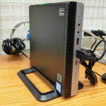 PCコンフル二号店で第7世代i5搭載hp製超小型デスクが3万円台【デイリーガジェット限定割引も】